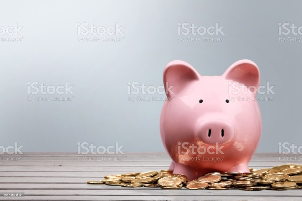 Savings. stock photo