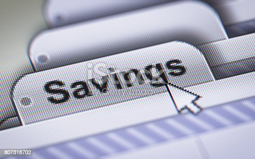 istock Savings 807318702