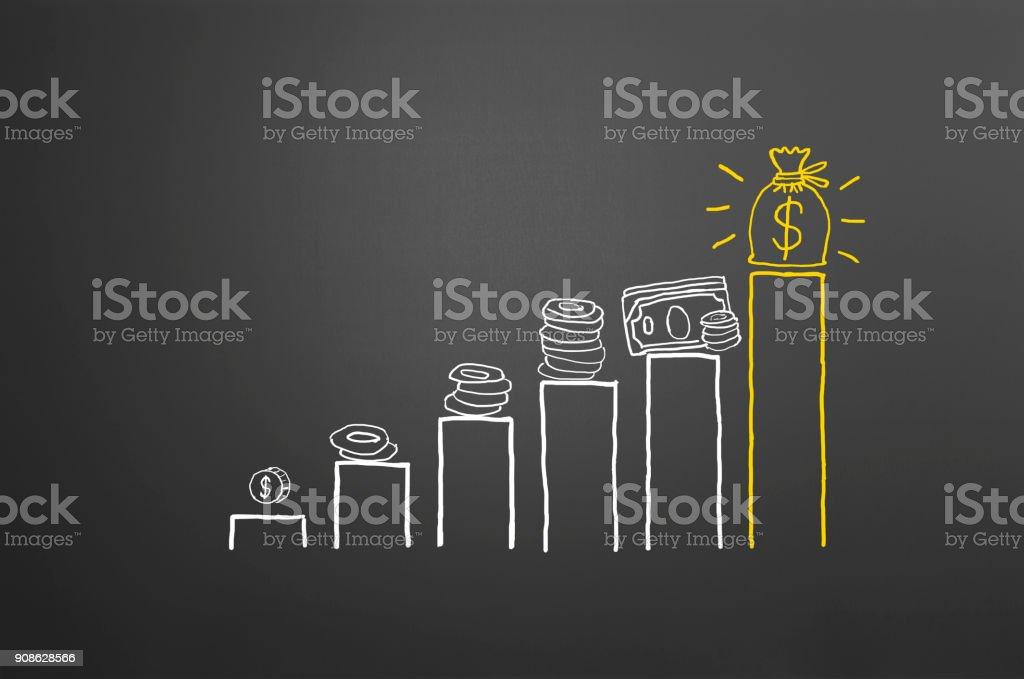 Ahorros - foto de stock