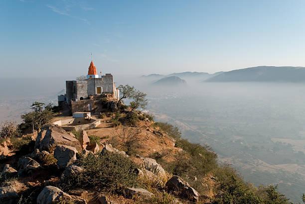 Savitri Temple Pushkar stock photo