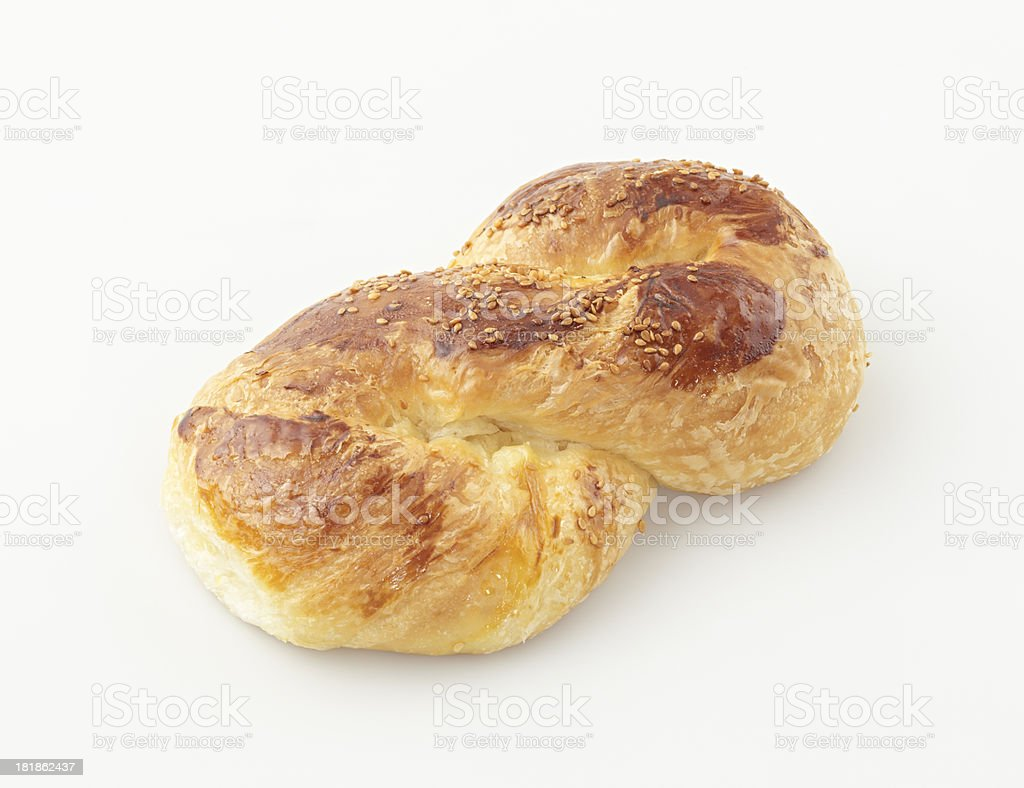 Savory pastry with potato royalty-free stock photo