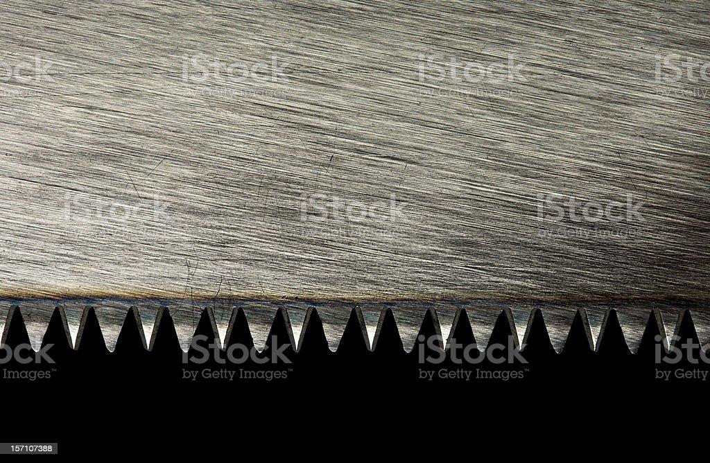 Saw blade royalty-free stock photo