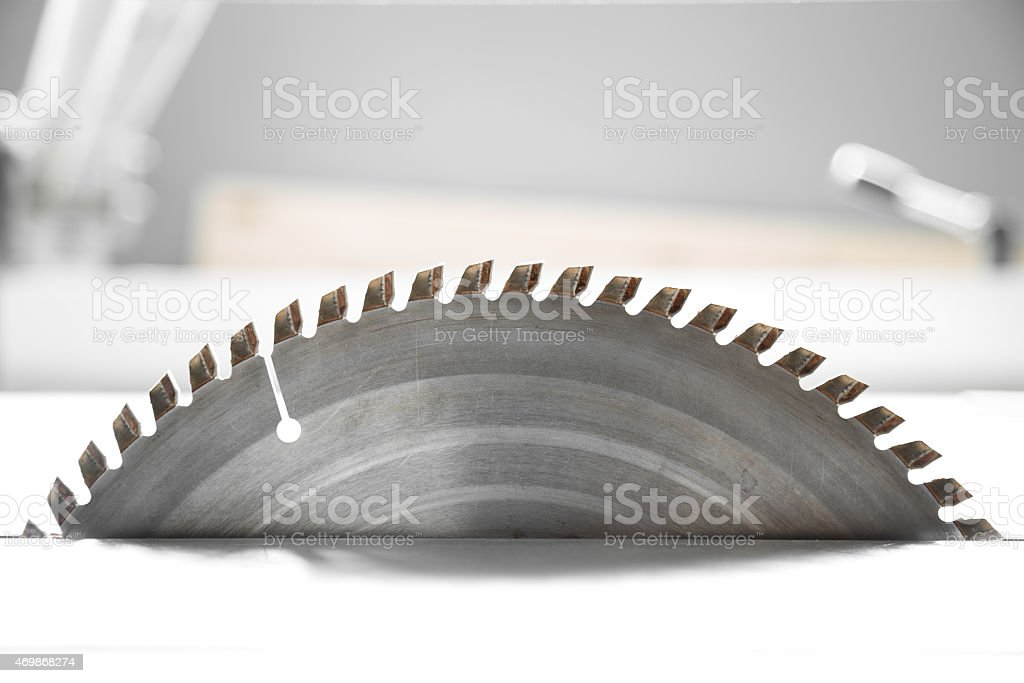Saw Blade stock photo