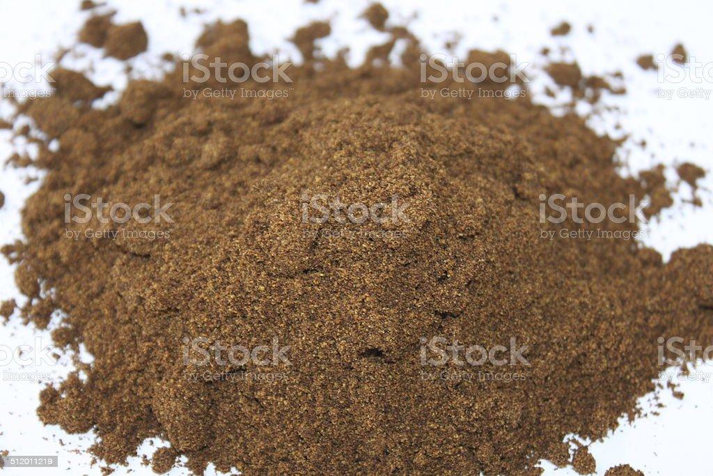 Saw Palmetto Powder stock photo