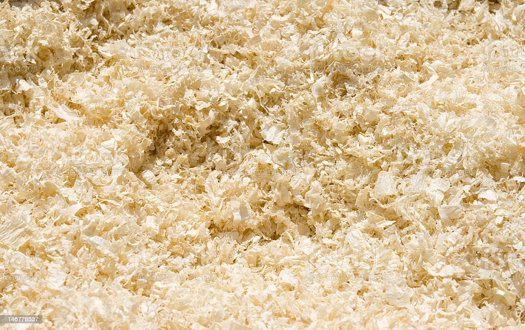 Sawdust background royalty-free stock photo