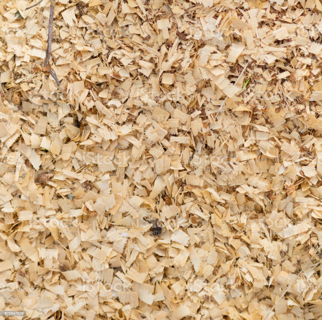 sawdust background stock photo