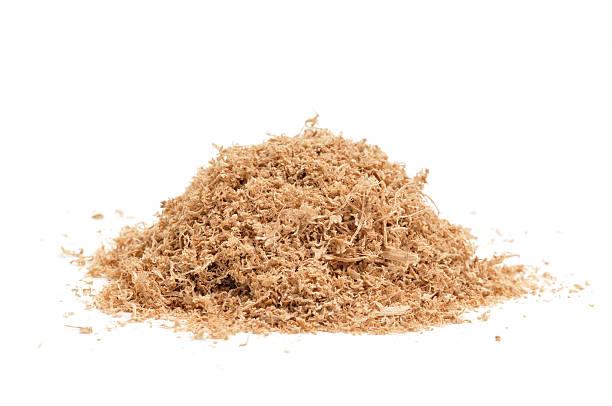 Sawdust stock photo