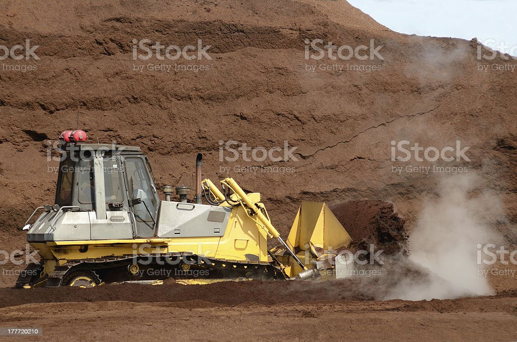 Sawdust Pile royalty-free stock photo