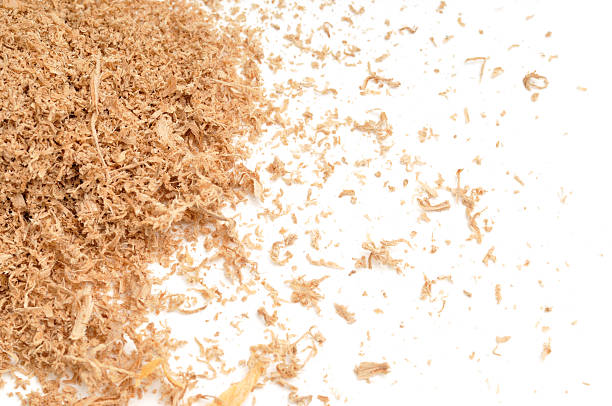 Sawdust Scattered stock photo