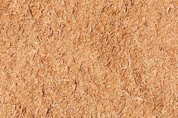 Sawdust texture stock photo