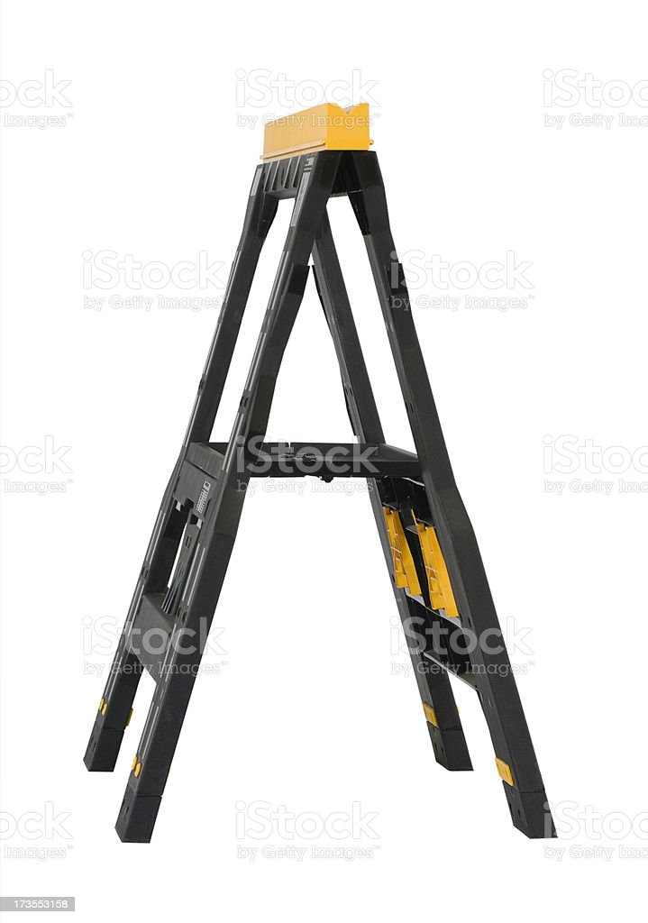 Sawhorse royalty-free stock photo
