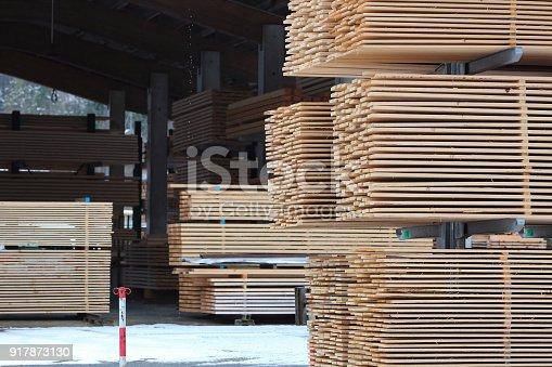 Sawmill warehouse