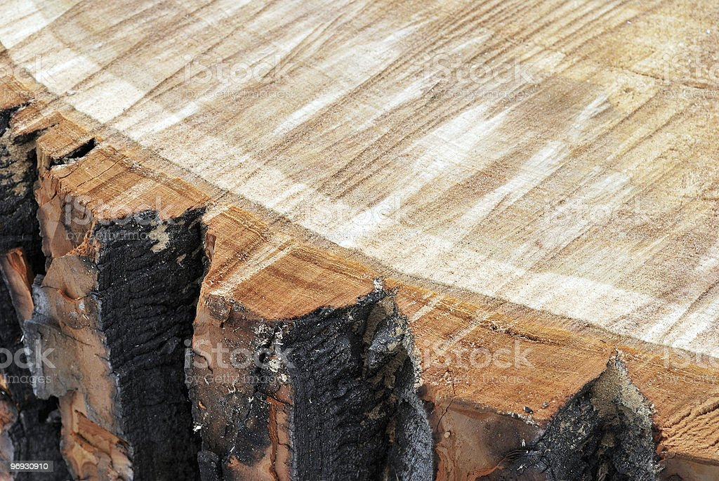 Sawn wood royalty-free stock photo