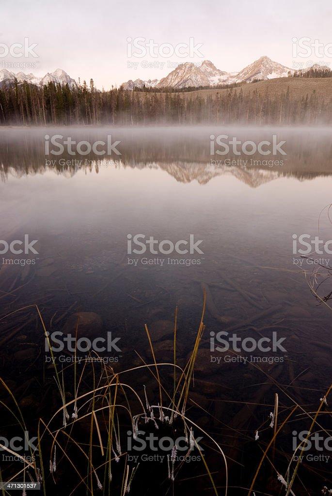 Sawtooth Morning royalty-free stock photo