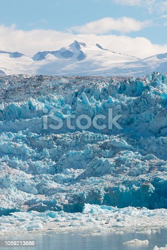istock Sawyer glacier in Tracy Arm fjord near Juneau Alaska 1059213686