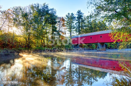 The Sawyers Crossing Covered Bridge, also known as the Cresson Bridge, is a wooden covered bridge carrying Sawyers Crossing Road over the Ashuelot. The bridge is maintained by the Town of Swanzey