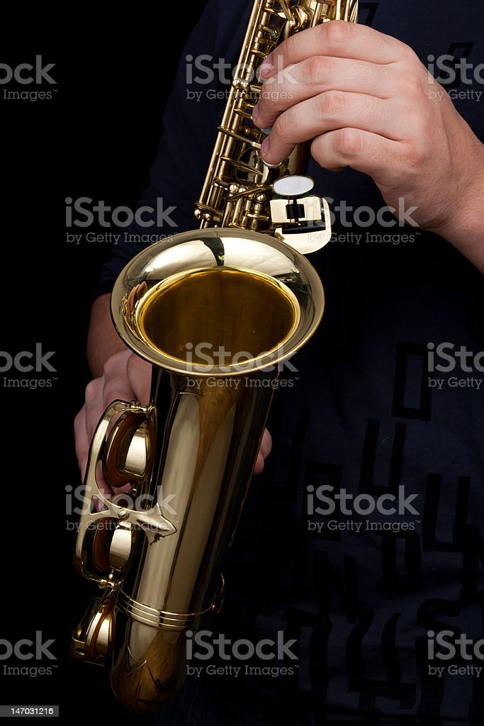 sax royalty-free stock photo