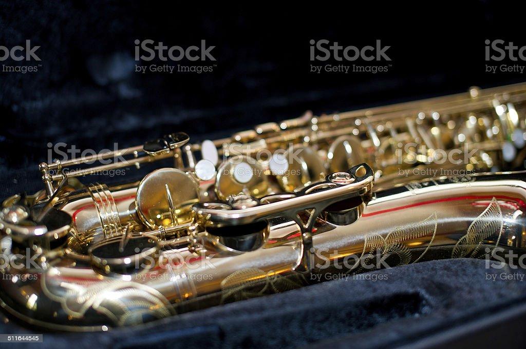 Sax stock photo