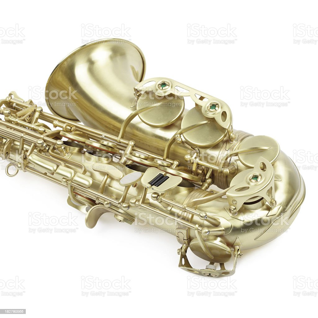 Saxaphone stock photo
