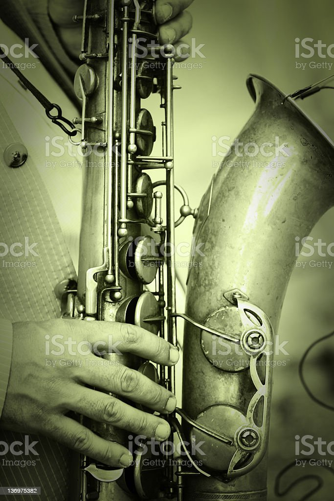 Saxo stock photo
