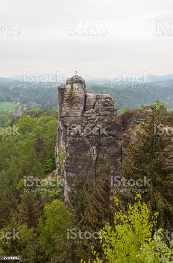 Saxon Switzerland National Park. Germany - Royalty-free Germany Stock Photo
