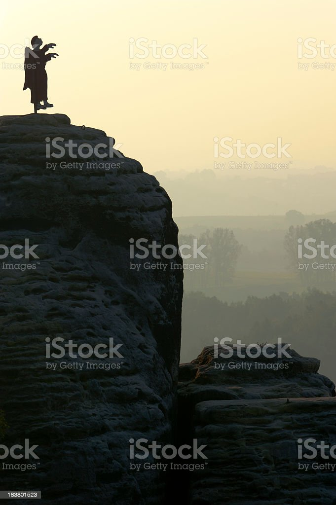 saxon switzerland royalty-free stock photo