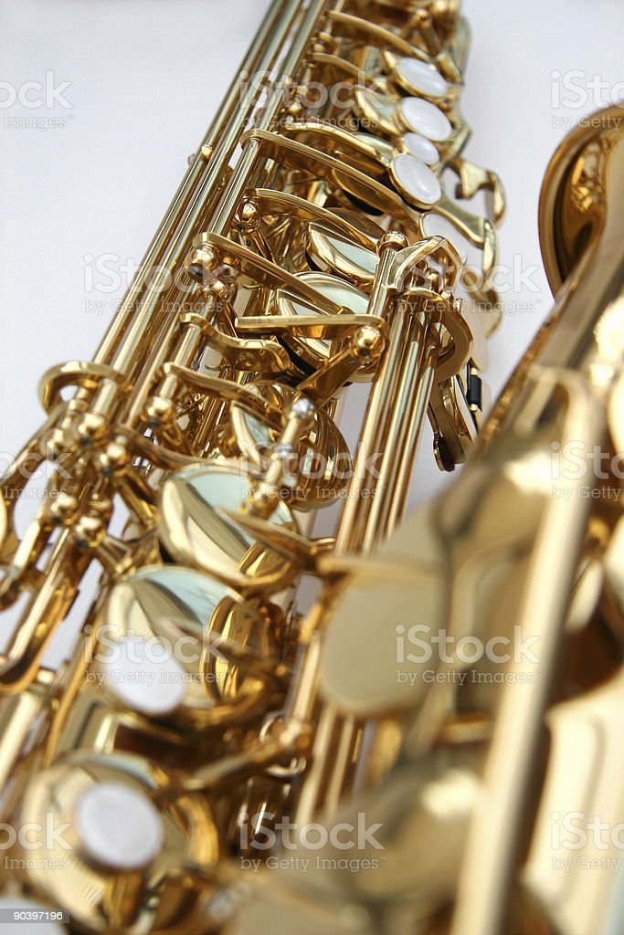 Saxophone 2 stock photo