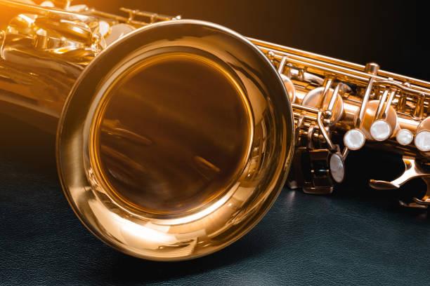 Saxophon. Musik. – Foto