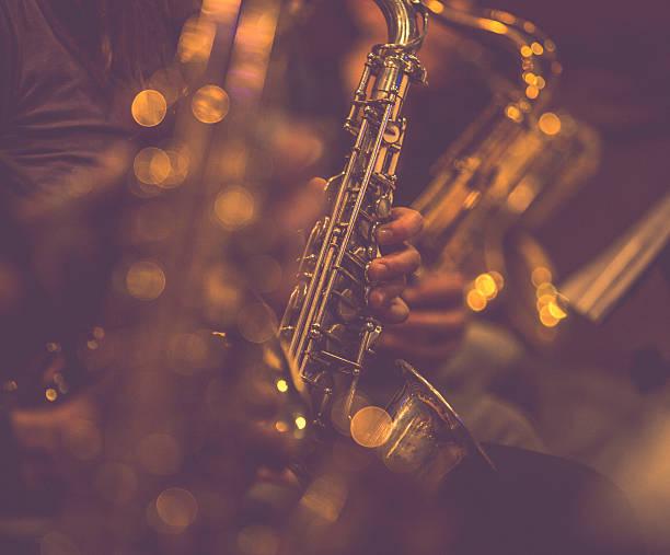 Saxophon-Spieler – Foto