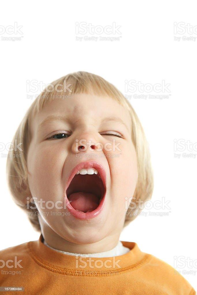 say aaaa, dental check up royalty-free stock photo