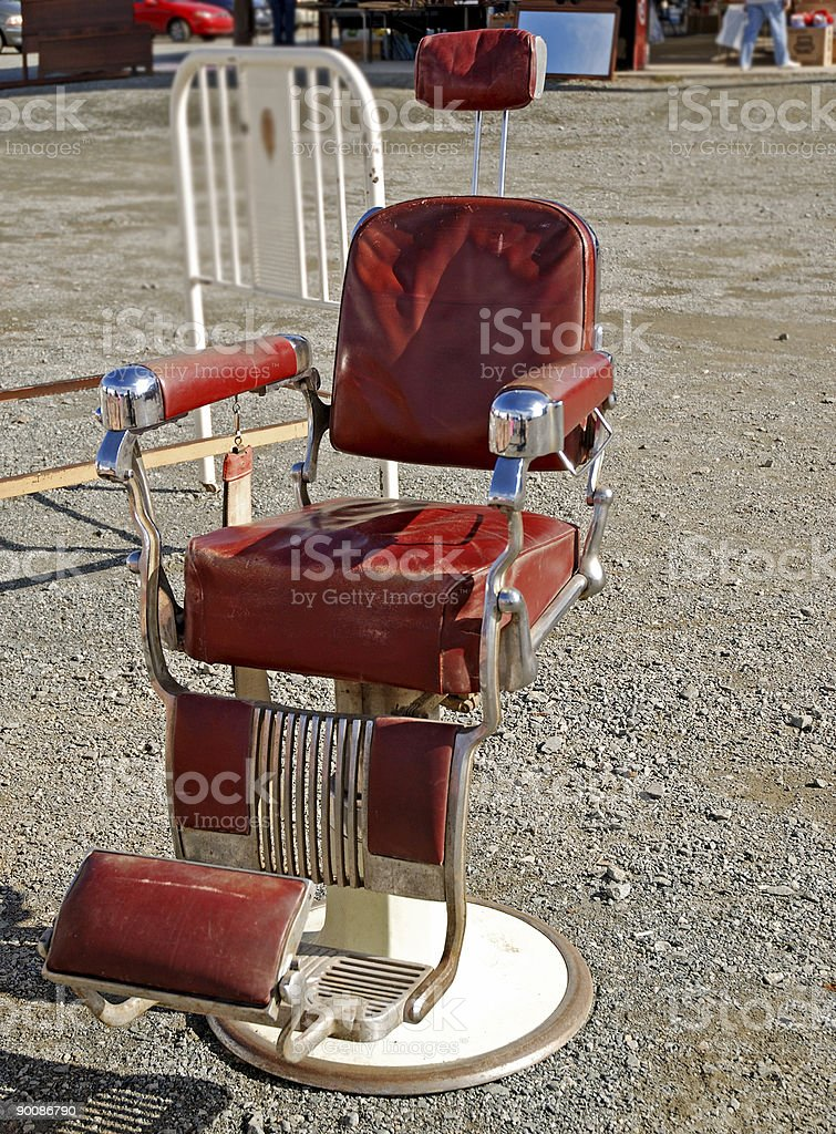 Say Ahhh antique dentist chair royalty-free stock photo