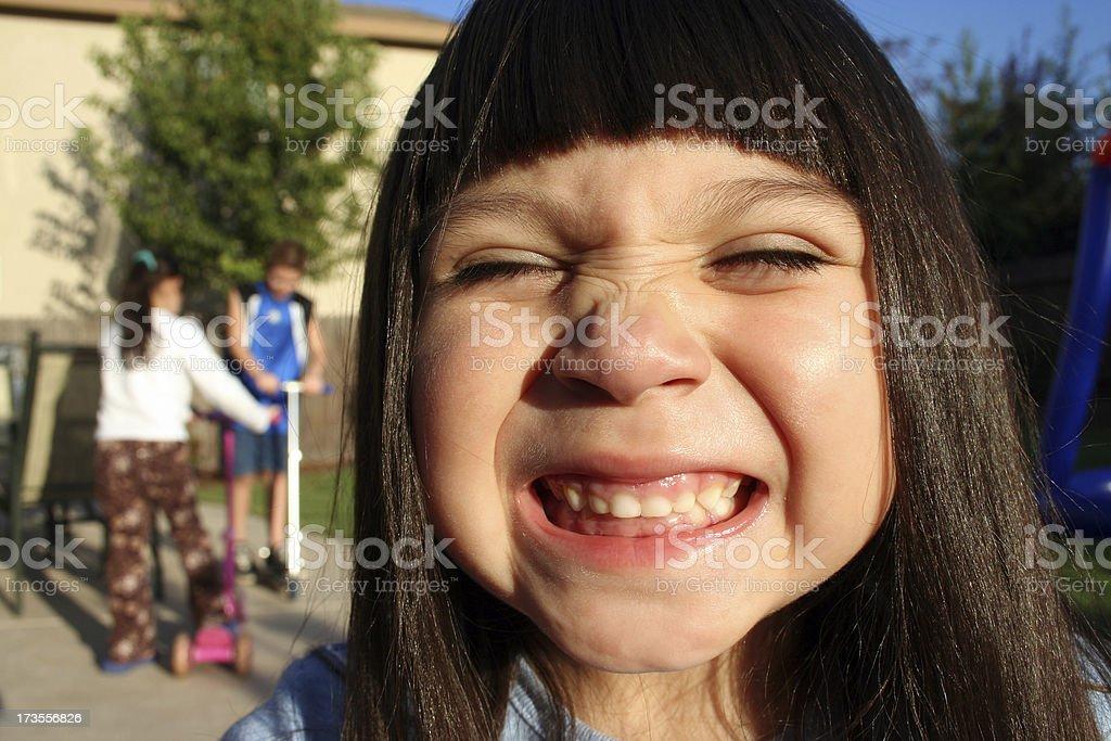 say cheese! close up royalty-free stock photo