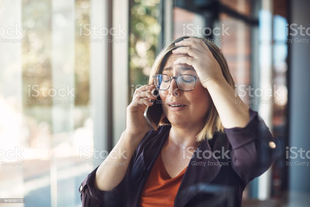 Say it isn't so! stock photo