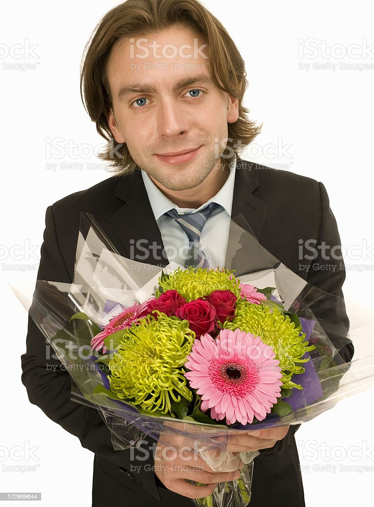Say it with flowers.jpg royalty-free stock photo