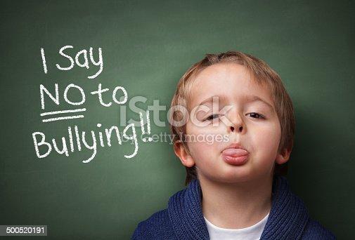 istock Say NO to bullying 500520191