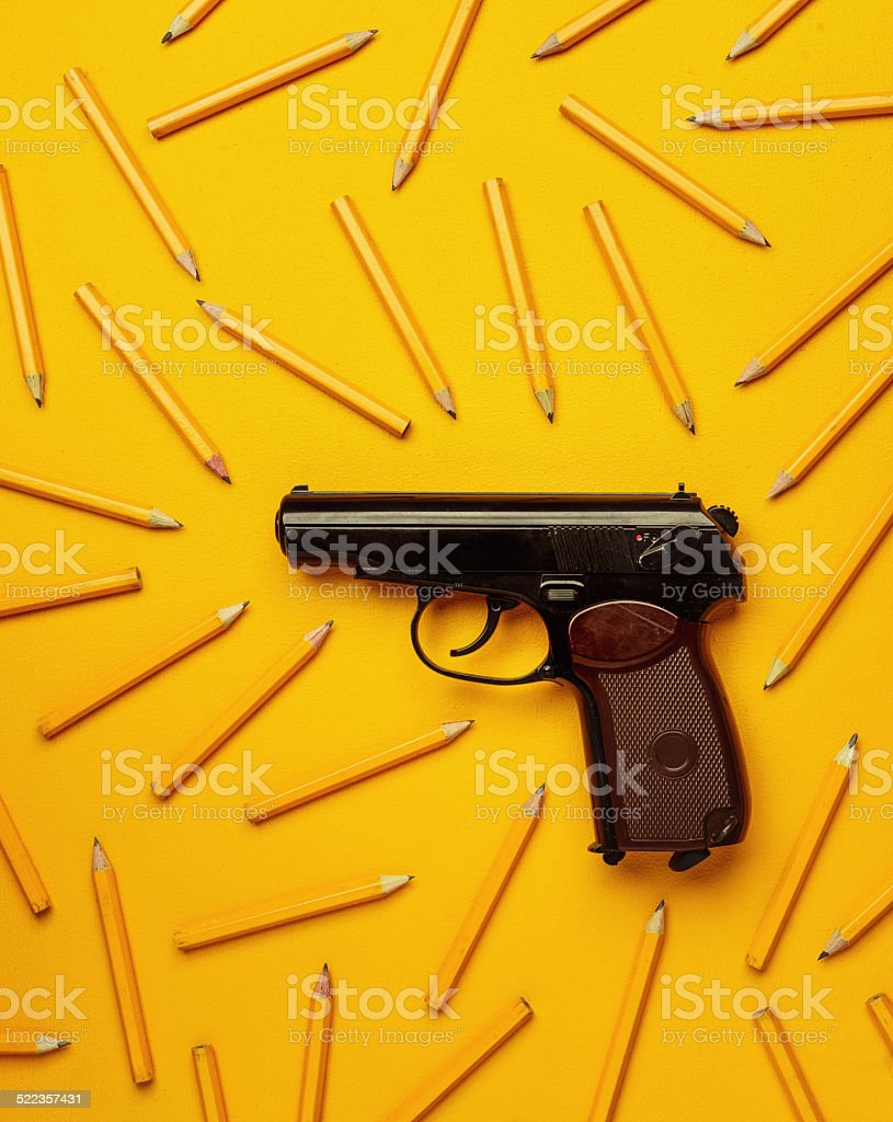 say no to school violence stock photo