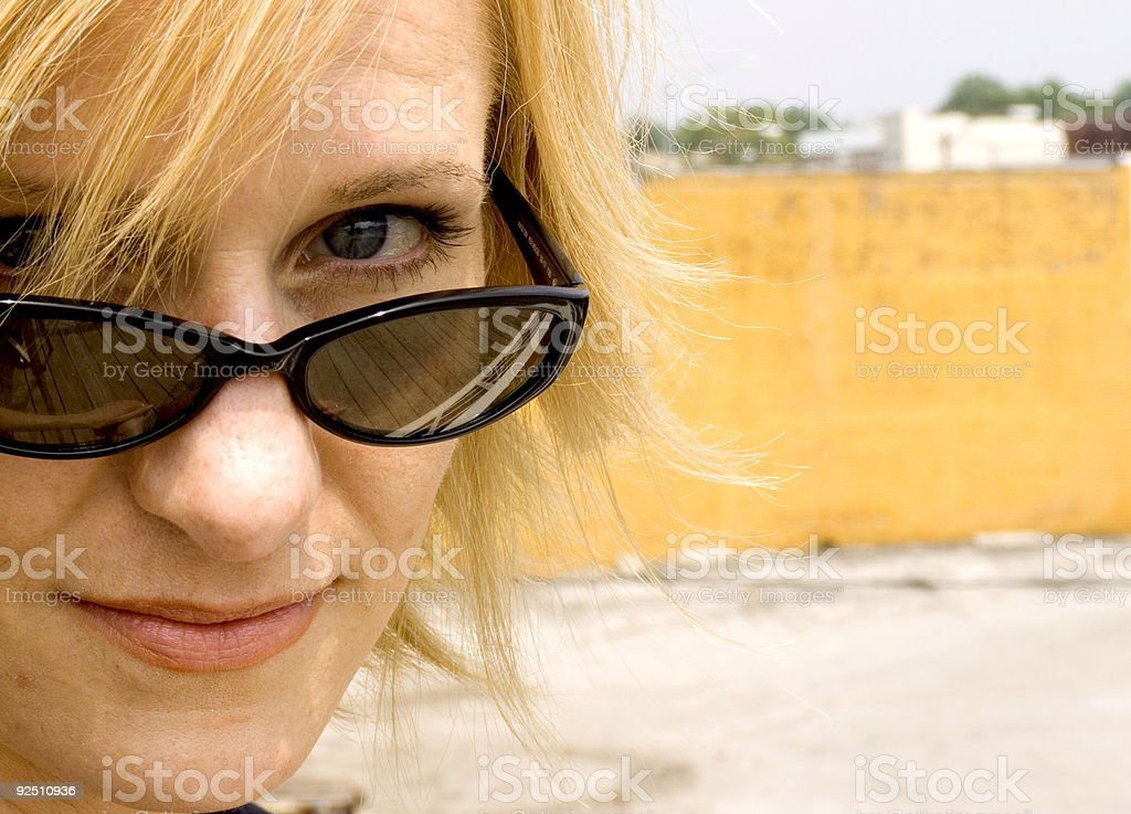 say what adult woman portrait royalty-free stock photo