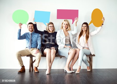 istock Say what you need to say 916048608