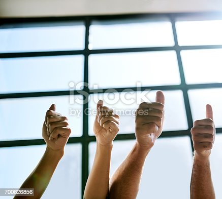 888892364istockphoto Say yes to teamwork! 700626856
