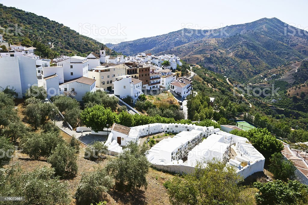 Sayalonga, Malaga, Spain royalty-free stock photo