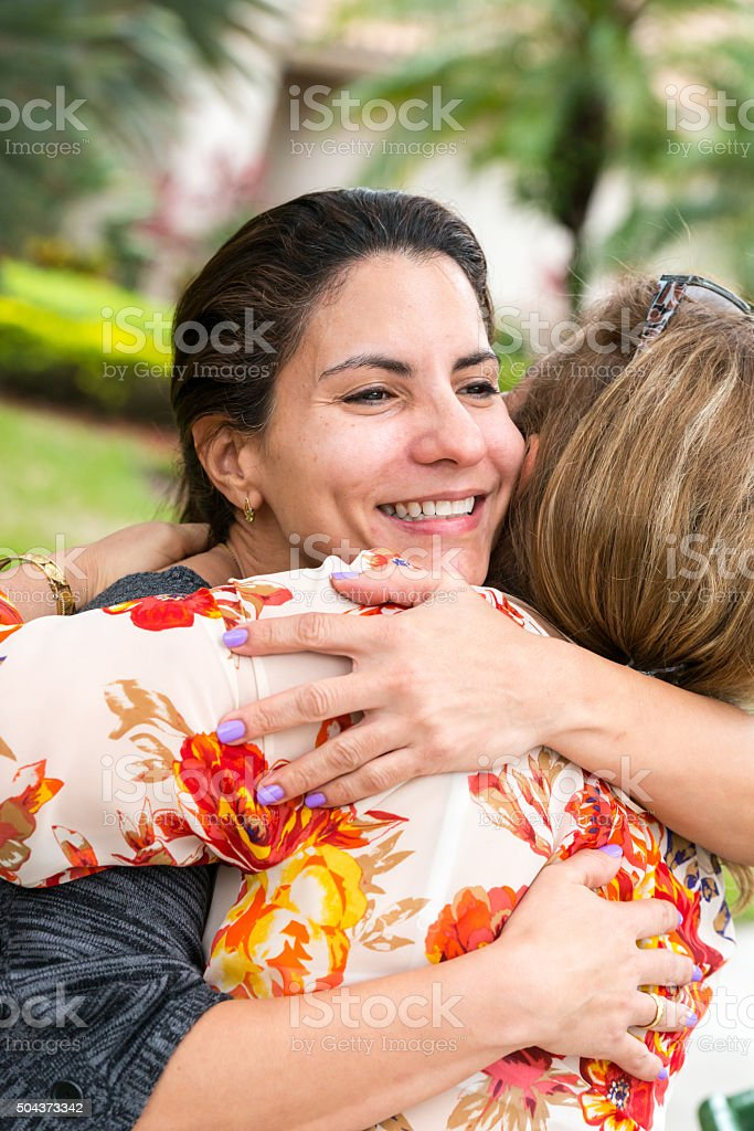 Saying Goodbye Stock Photo & More Pictures of 40-44 Years | iStock