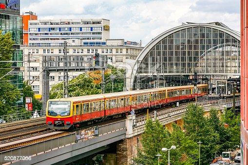 istock S-Bahn train departing Berlin Alexanderplatz Station (Bahnhof) 520877056