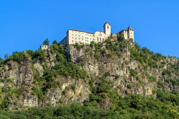 Säben Abbey (Monasterio di Sabiona) in South Tyrol, Italy stock photo