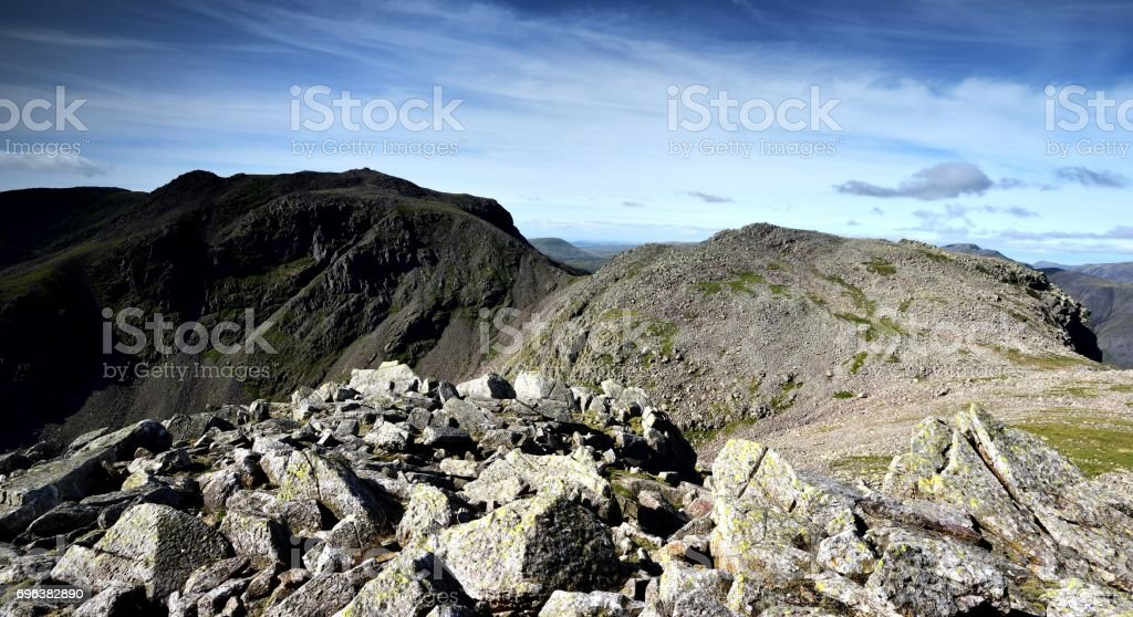 Scafell Pike stock photo