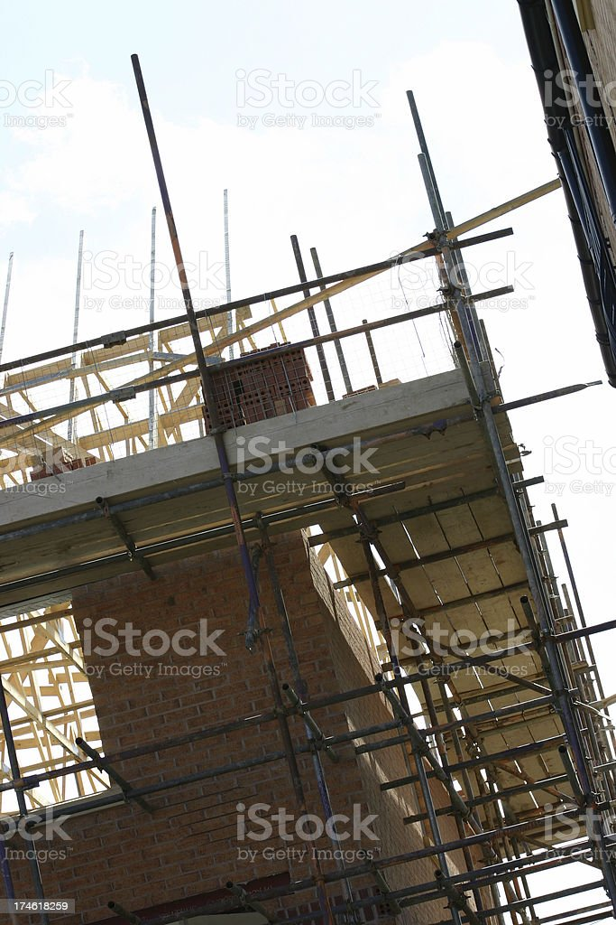scaffold royalty-free stock photo