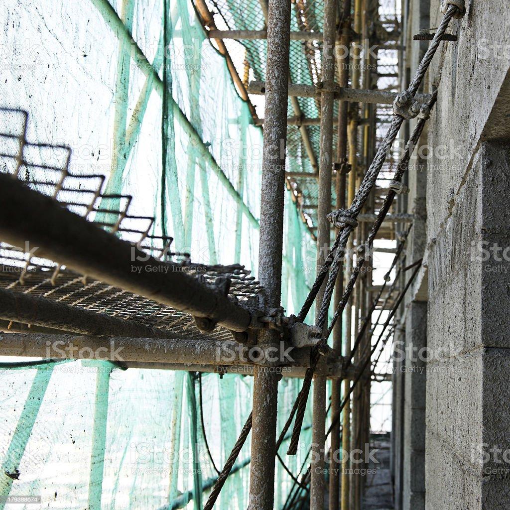 scaffold royalty-free stock photo