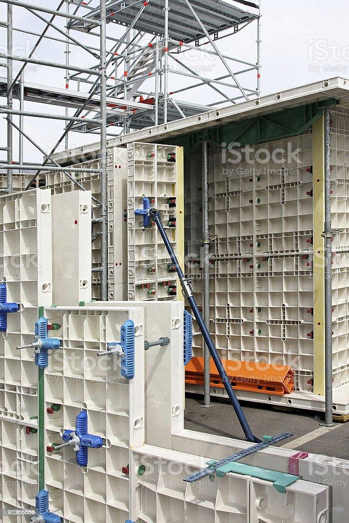 Baugerüst und Formulare Lizenzfreies stock-foto