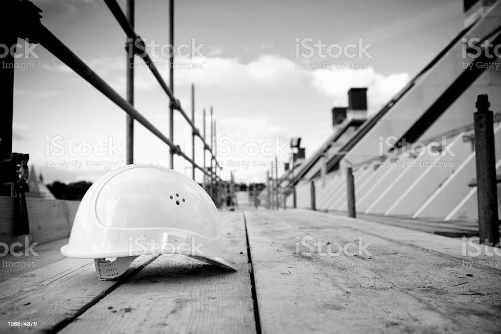 scaffolding crisis building industry stock photo