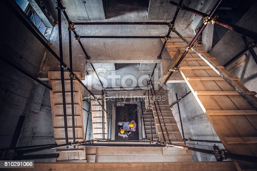istock Scaffolding on a construction site 810291066