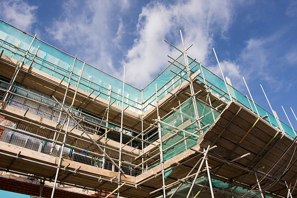scaffolding  scaffolding stock pictures, royalty-free photos & images
